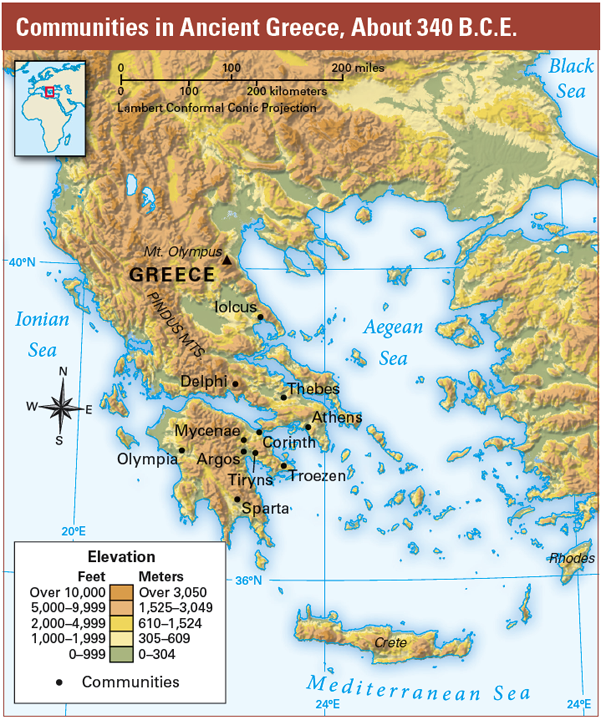 an introduction to the geography and history of greece History and geography 600 2 ©2016 glynlyon, inc history & geography 600 unit 3: the civilizations of greece and rome assignment titles 1 the civilization of greece.